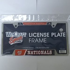MBL Nationals License Plate Cover